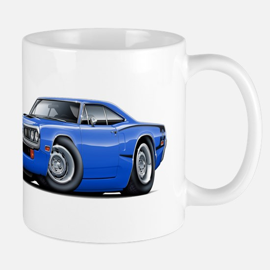 Super Bee Blue-Black Car Mug