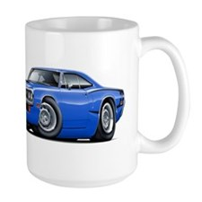 Super Bee Blue-Black Car Mug