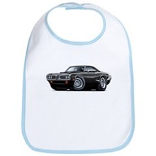 Super Bee Black Hood Scoop Car Bib