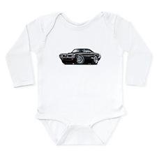 Super Bee Black Hood Scoop Car Long Sleeve Infant