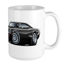 Super Bee Black Hood Scoop Car Mug
