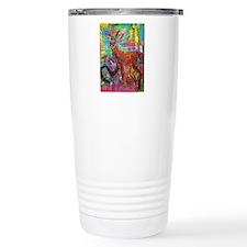 Oh Deer God Travel Coffee Mug