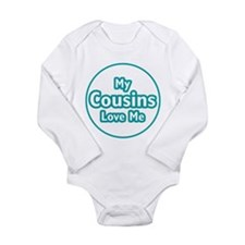 Cousins Love Me Long Sleeve Infant Bodysuit
