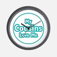 Cousins Love Me Wall Clock