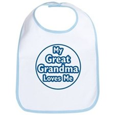 Great Grandma Loves Me Bib