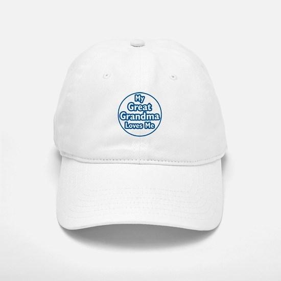 Great Grandma Loves Me Baseball Baseball Cap