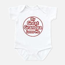 Great Grandpa Loves Me Infant Bodysuit