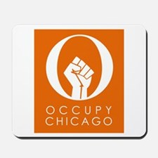 Occupy Chicago Mousepad