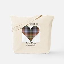 Heart - MacKay of Strathnaver Tote Bag