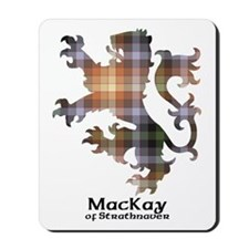 Lion - MacKay of Strathnaver Mousepad