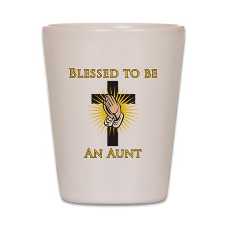 Blessed Aunt Shot Glass