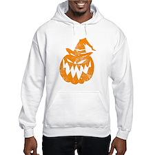 Grunge Pumpkin in Hat Hoodie