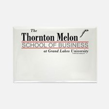 Melon School of Business Rectangle Magnet