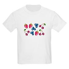 Triple Berries Kids T-Shirt