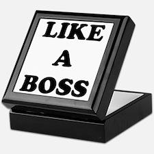 Like a Boss Keepsake Box