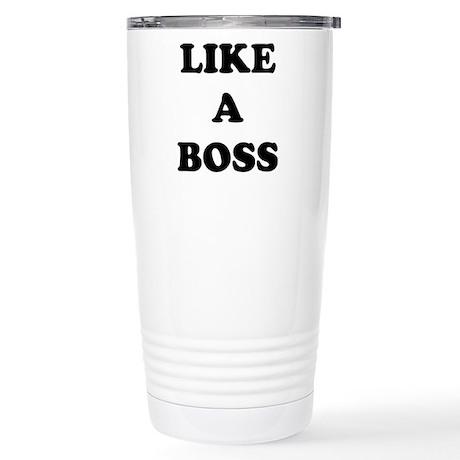 Like a Boss Stainless Steel Travel Mug