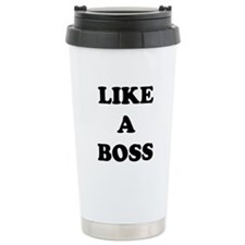 Like a Boss Travel Mug