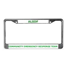 Alabama State Defense Force License Plate Frame
