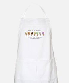 Ice Cream and People BBQ Apron