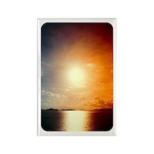 Sunrise/Sunset Rectangle Magnet
