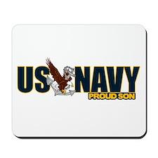 Navy Son Mousepad
