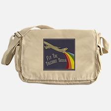 Rainbow Air Messenger Bag