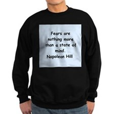 Napolean Hill quotes Sweatshirt