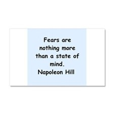 Napolean Hill quotes Car Magnet 20 x 12