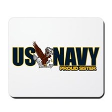 Navy Sister Mousepad