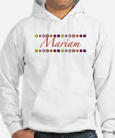 Mariam with Flowers Hoodie Sweatshirt
