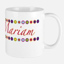 Mariam with Flowers Mug