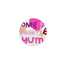 OYOOS Sweetie Pie design Mini Button