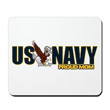 Navy Mom Mousepad