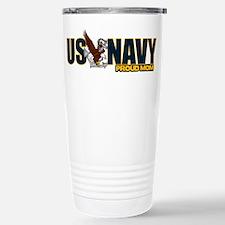 Navy Mom Travel Mug