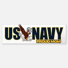 Navy Mom Bumper Bumper Sticker