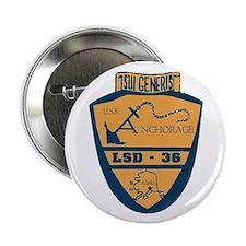 USS Anchorage LSD 36 Button