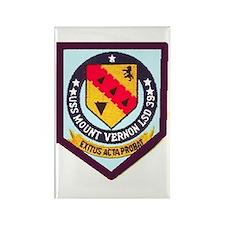 USS Mt. Vernon LSD 39 Rectangle Magnet