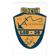 USS Anchorage LSD 36 Postcards (Package of 8)