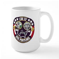 USS Portland LSD 37 Mug