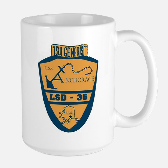 USS Anchorage LSD 36 Large Mug