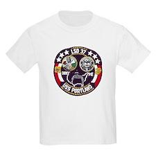 USS Portland LSD 37 Kids T-Shirt