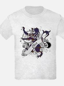 Elliot Tartan Lion T-Shirt