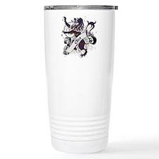 Elliot Tartan Lion Travel Mug