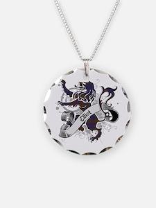 Elliot Tartan Lion Necklace