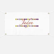 Jadyn with Flowers Banner