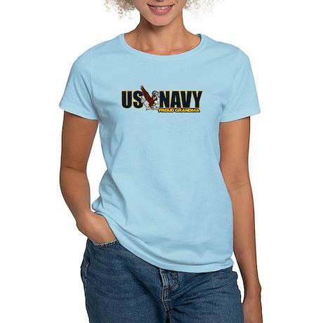 Navy Grandma Women's Light T-Shirt