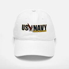 Navy Girlfriend Baseball Baseball Cap
