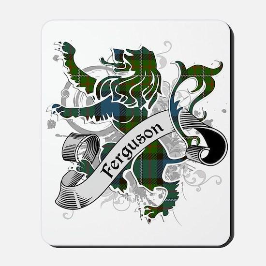 Ferguson Tartan Lion Mousepad