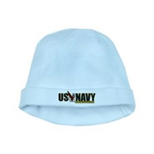 Navy Daughter baby hat