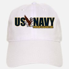 Navy Daughter Baseball Baseball Cap